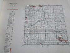1961 IONIA County MI CONSERVATION DNR MAP