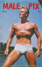 Male Pix, Issue No.2 August 1969 by Tomorrow's Man, Vintage Gay Male Magazine