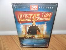 Drive-In Movie Classics 50 Movie Megapack (DVD, 2005, 12-Disc Set) BRAND NEW