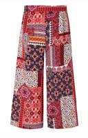 Ladies New Ex George Print Cullots size 8 14 16 18 22
