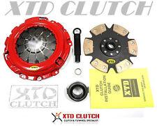 XTD STAGE 4 RIGID CLUTCH KIT 02-06 RSX TYPE-S 6spd / 06-08 CIVIC Si 2.0L K20
