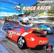 Used PS ONE Ridge racer Namcot Namco PS 1 SONY PLAYSTATION JAPAN IMPORT