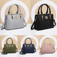 Women Designer Faux Leather Shoulder Bag Ladies Medium Work Totes  Handbag