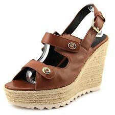 Coach Electra Slingback Espadrille Sandals Saddle 8 UK
