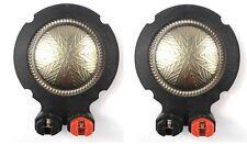 2pc Aft market 44.4mm Diaphragm for Selenium D210Ti RPD210TI Tweeters Voice Coil
