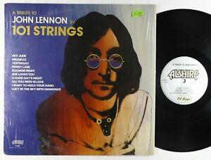 101 Strings - Tribute To John Lennon LP - Alshire  VG++ Shrink