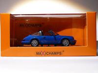 Porsche 911 Carrera 2 Targa de 1991 au 1/43 de Minichamps / Maxichamps