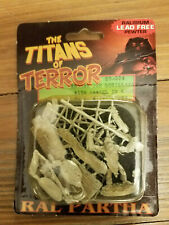Ral Partha Titans of Terror Miniature Krogar the Gorilla with Damsel