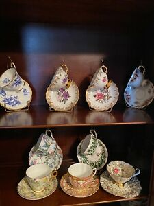 Fine Bone China Tea Cups and Saucers ~ Made in England ~