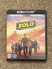 Solo A Star Wars Story 4K Ultra HD And Blu-ray