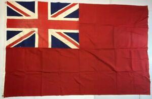 UK British Ensign Flag WWII Naval 100% Cotton 6'x4' Large Vintage