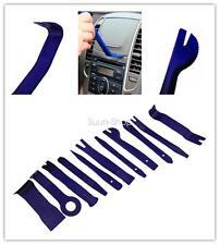 11 Pcs DIY Blue Car Door Autos Radio  Audio Stereo GPS Molding Removal Tools Kit