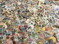 Qty.2250 VINTAGE POSTAGE WORLD STAMPS MIXED BULK LOT (ACTUAL LOT SHOWN) Lot 5