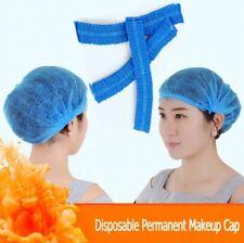20pcs Disposable Microblading Permanent Makeup Caps Hairnet Catering Stretch Hat