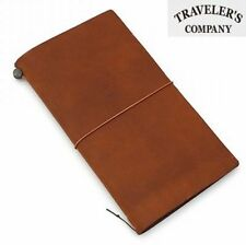 Traveler's company Notebook Regular Size Camel leather Midori [NEW] Midori