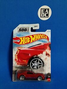 2021 HOT WHEELS FACTORY 500 HP 10 SHELBY 500 SUPER SNAKE RED 3/10