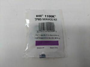 Dill TPMS Sensor Service Kit 1100K Qty 25
