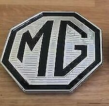 MG TF LE500 BADGE FRONT BADGE 88mm with 3m and locating lugs