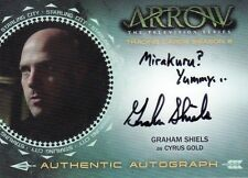 Arrow Season 2 Graham Shiels as Cyrus Gold GS Auto Card a