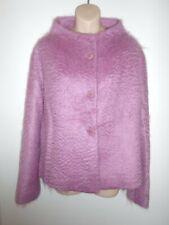 ADOLFO DOMINGUEZ Mohair/Wool Jacket Size 42 (UK 14)
