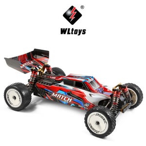 Wltoys 104001 RTR 1/10 2.4G 4WD 45km/h RC Cars Metal Chassis Vehicles Off-Road