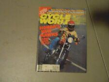 SEPTEMBER 1977 CYCLE WORLD MAGAZINE,HONDA HAWKS,GEAR BAGS GUIDE,HUSKY 360WR,AMA