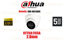 TELECAMERA DAHUA OTTICA FISSA 2.8mm DOME DA ESTERNO INTERNO 4 IN 1 5MPX CMOS