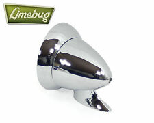 Bullet Wing Mirror Fender Chrome Universal VW Beetle Buggy Caddy Hotrod Small T2