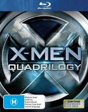 X-Men 1 2 3 4 Quadrilogy : NEW Blu-Ray