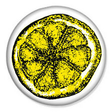 """Stone Roses Lemon 25mm 1"""" Pin Badge Button Indie Cool Rock Ian Brown Manchester"""