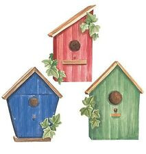 Wallies Wallpaper Cutouts Birdhouses