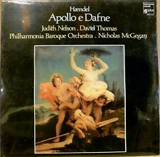 Germany SEALED Harmonia Mundi LP HANDEL Haendel APOLLO E DAFNE Judith Nelson