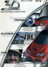 3D BROS #Numero 2 - Applications for Designer Architects & Artists # Luglio 2005