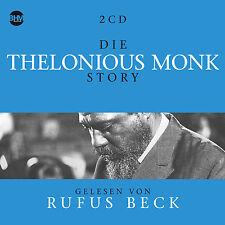 CD Die Thelonious Monk Story Musik und Biografie 5CDs   Hörbuch von Rufus Beck
