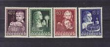 Österreich 1949 Glückliche Kindheit komplett postfrisch