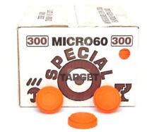 Piattelli MICRO60 piccoli per tiro al piattello manuale