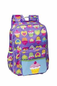 Kids on the Go Cute As Cupcakes Kids Backpack S  Womens Bags