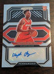 2020-21 Panini Prizm NBA Oneyka Okongwu Penmanship Autograph AUTO RC