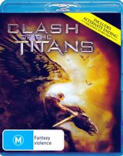 CLASH OF THE TITANS/Liam Neeson/NEW BLU-RAY/   FREE SHIPPING!!!
