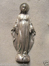 Vintage Mother Mary Madonna Lady Of Fatima 1830 Wall Christianity Made In Italy