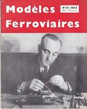 revue modéles ferroviaires n°12  (1952)