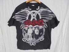 AREOSMITH 2010 MENS LARGE US TOUR BLACK CONCERT SHIRT