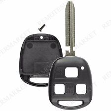 Replacement for Toyota Land Cruiser FJ Cruiser Remote Car Key Fob Shell Case