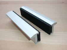 Schraubstock Schutzbacken 100mm / 125mm / 150mm Alu/Gummi Schonbacken mit Magnet