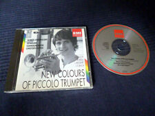 CD Markus Stockhausen New Colours Of Piccolo Trumpet Fasch krol Mozart Bach EMI