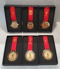 More details for liverpool official european cup final medals - set of 6 medals