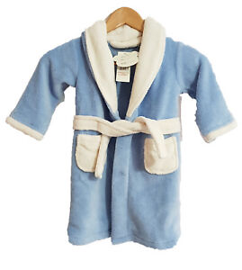 Kids Dressing gown/Robe in blue 5 to 6 yrs