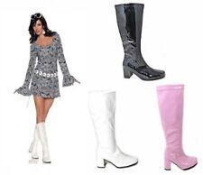 Markenlose Damenstiefel & -stiefeletten im Boots-Stil aus Lackleder