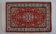 Dollhouse Miniature Oriental Rug  Carpet 9 1/2 x 5 1/2