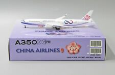 JC Wings 1:400 China Airlines Airbus A350-900 '60th Anniv. - Flaps Up' B-18917